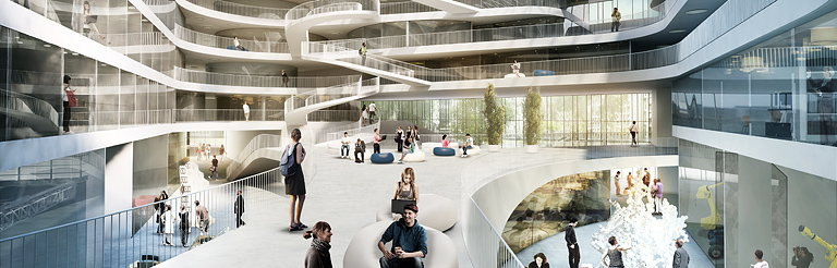 3XN Wins University Building in Stuttgart, Germany