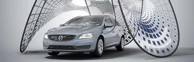 Synthesis Design and Architecture Designs Pavilion for Volvo's New Hybrid Electric
