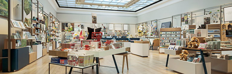 Edge Redesigns Portico Shop for the National Gallery