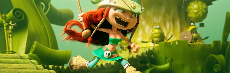 MTh Duo AKAMA Directs Animated Game Trailer for Rayman Legends