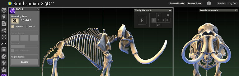 Smithsonian X 3D Explorer
