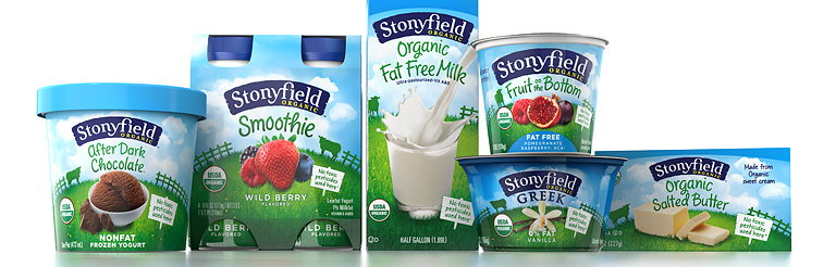 Pearlfisher New York Revitalizes the Stonyfield Brand Portfolio