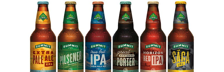 Duffy and Partners Creates New Summit Brewing Co. Packaging System