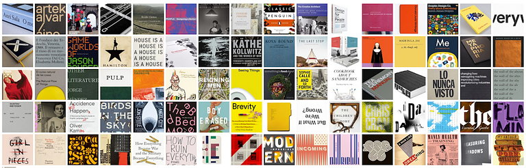 AIGA Announces 50 Books | 50 Covers of 2016 Competition Results