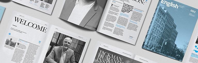 typotherapy Redesigns University of Toronto's English Magazine