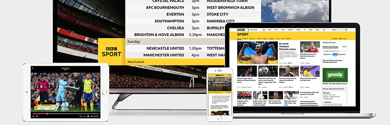 Studio Output Updates BBC Sport Identity