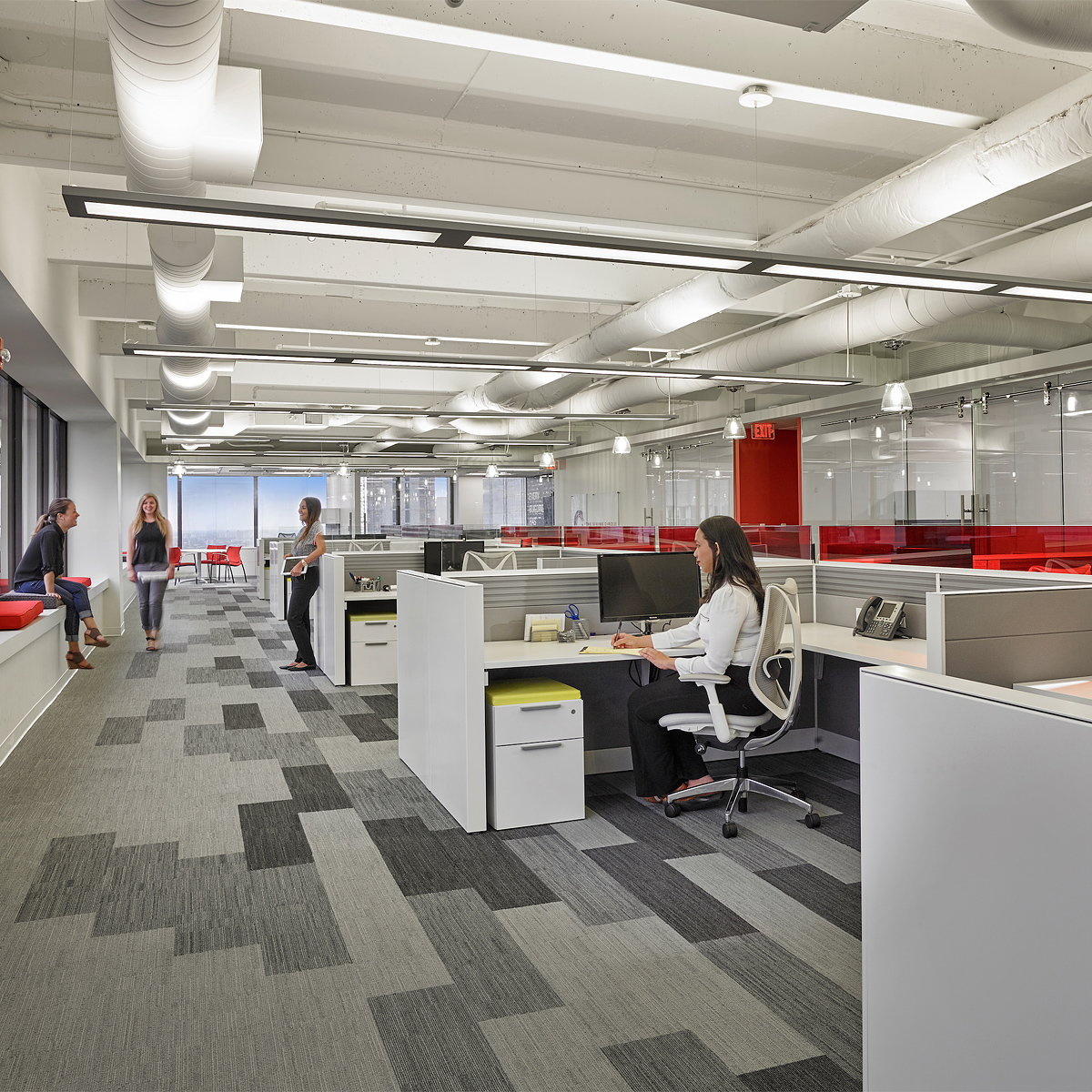 Stantec Captures Suffolk Construction's Culture Through New Interior Design