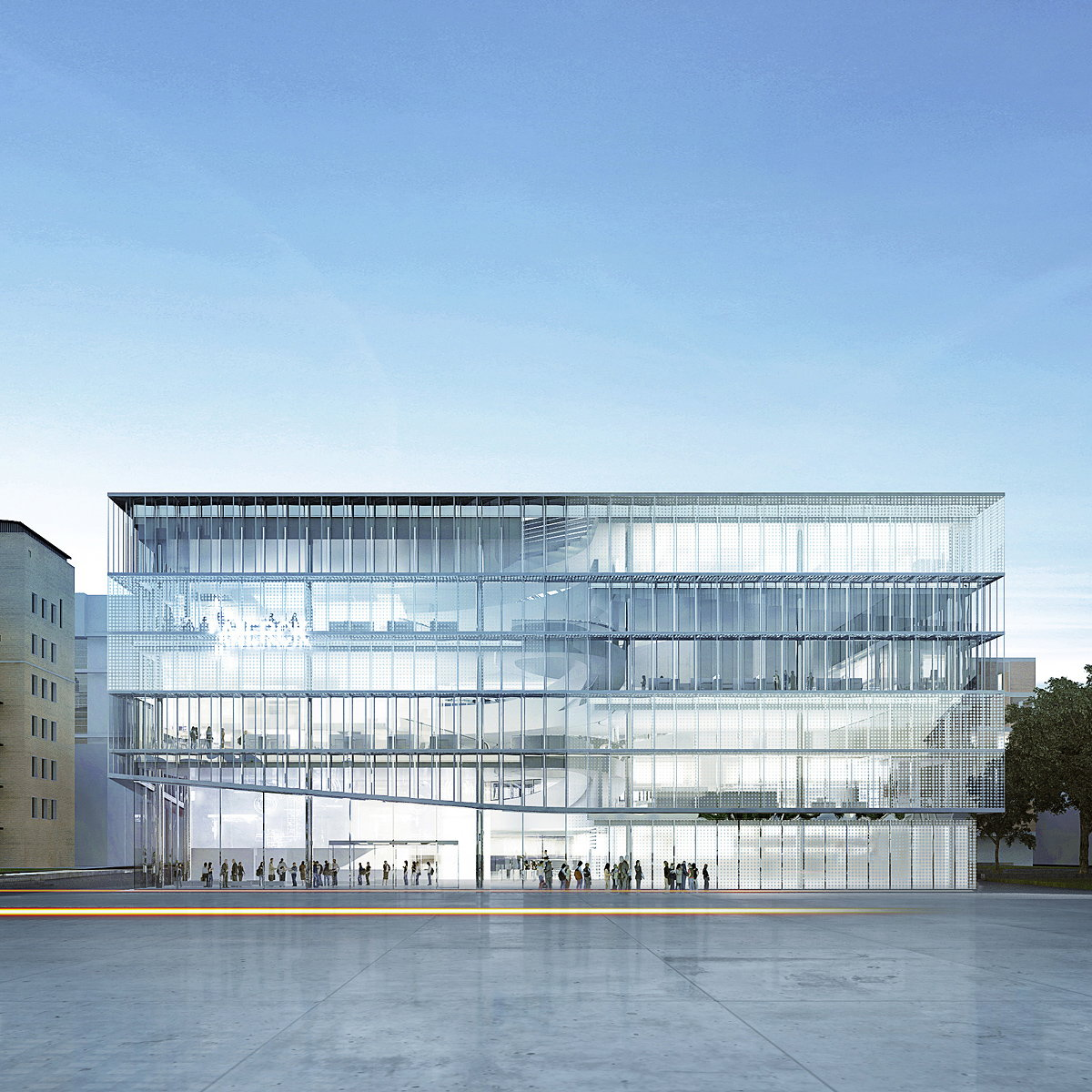 The New Merck Innovation Centre by HENN