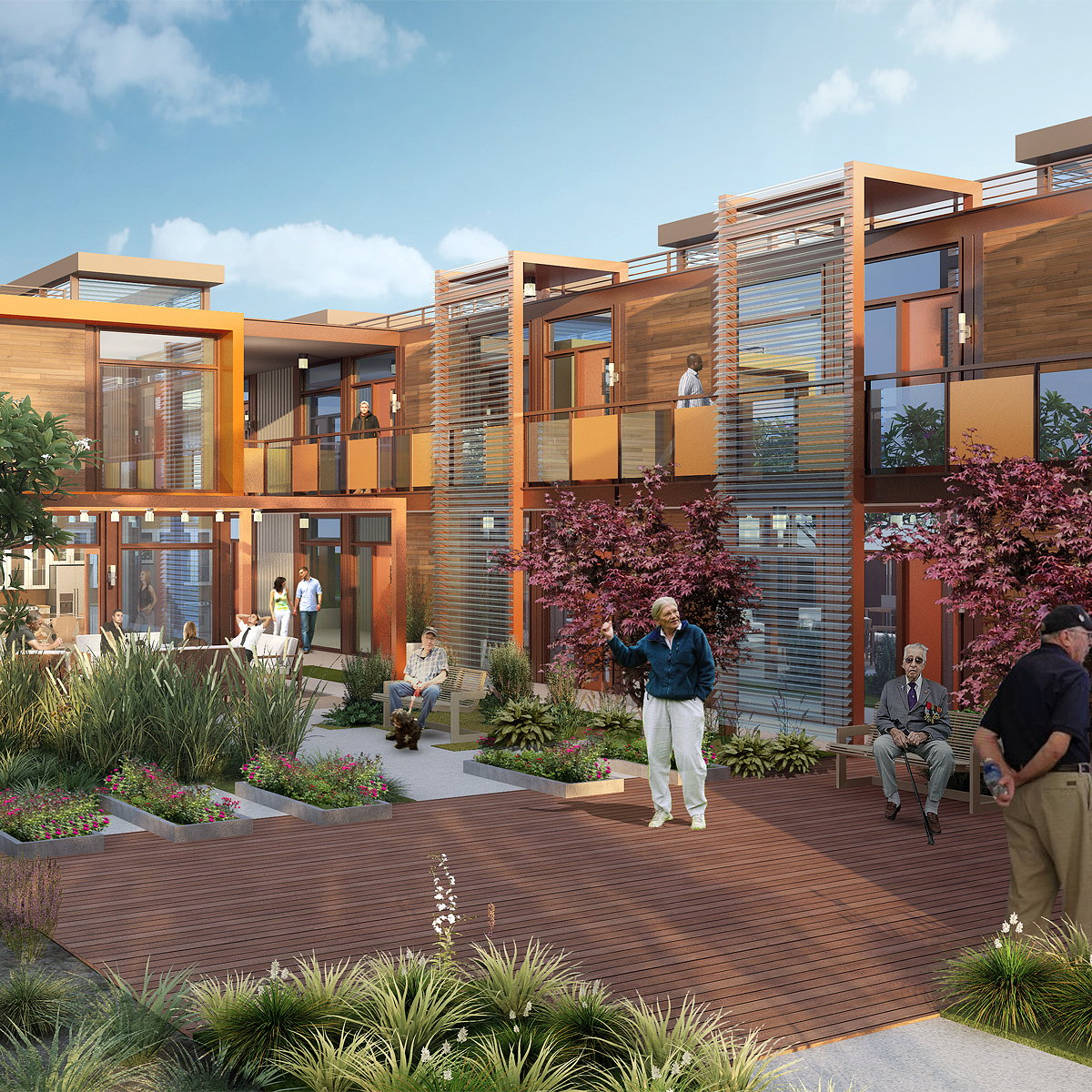 Potter's Lane - Eco-Friendly Housing Project Breaks Ground to End Veteran Homelessness