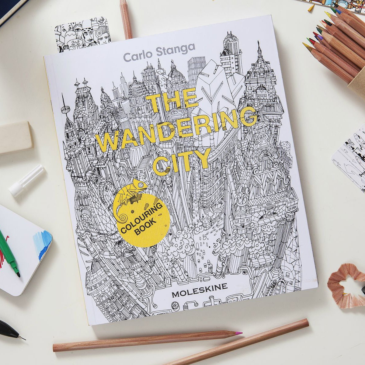 Moleskine Launches Coloring Book for Adults