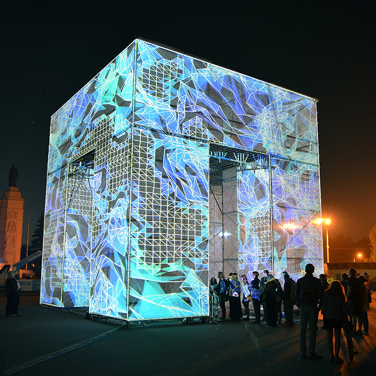 P-Cube Temporary Pavilion in Moscow