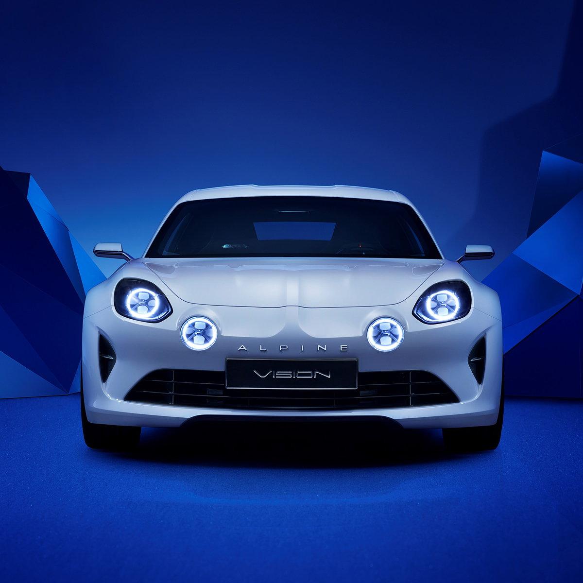 Renault Alpine: Renault Unveils Alpine Vision