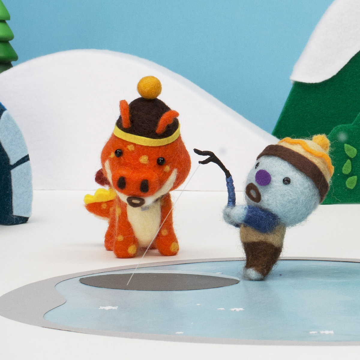 Houses in Motion Teams with Nick Jr. for a Warm and Fuzzy Stop-motion Package