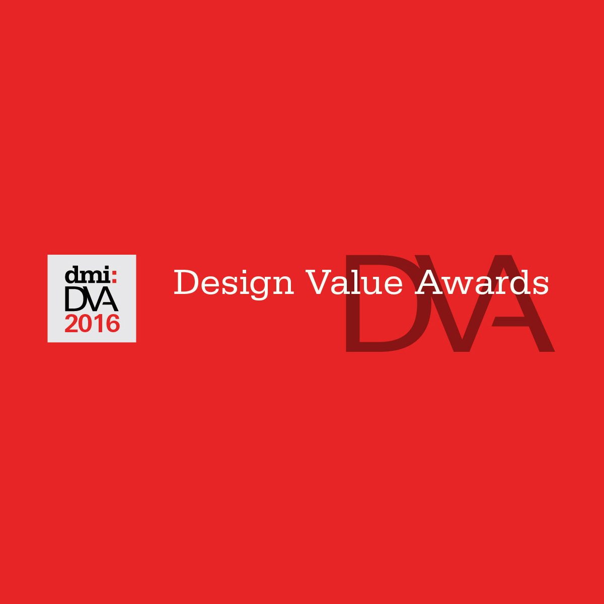 2016 dmi:Design Value Awards