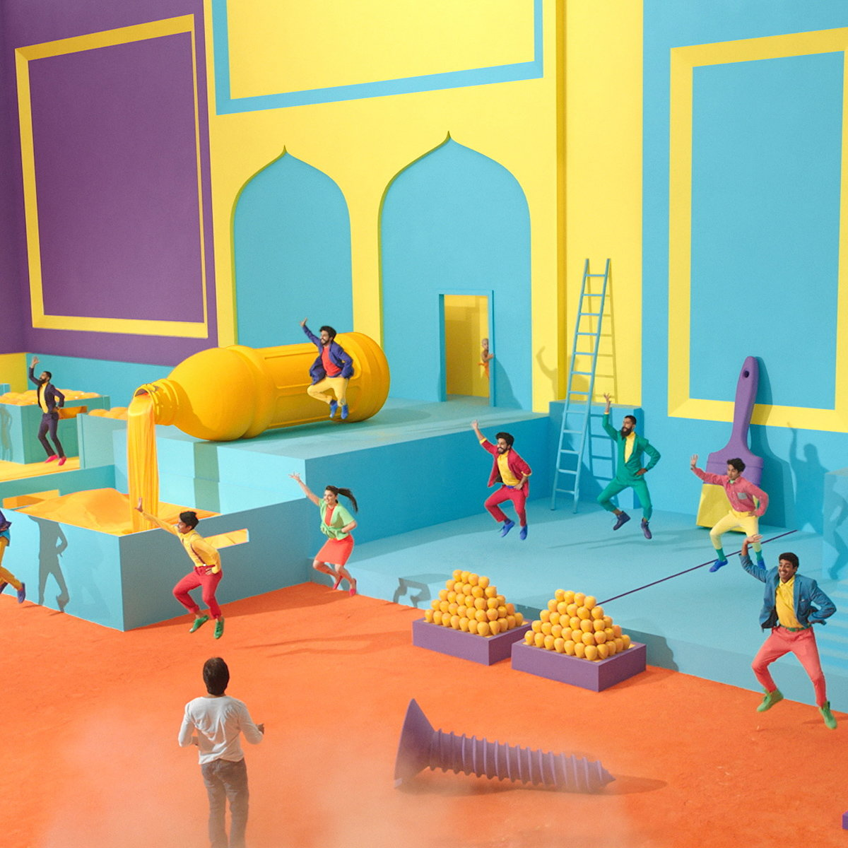 Sagmeister&Walsh and SpecialGuest Create Flavorful, Fun Frooti Spot