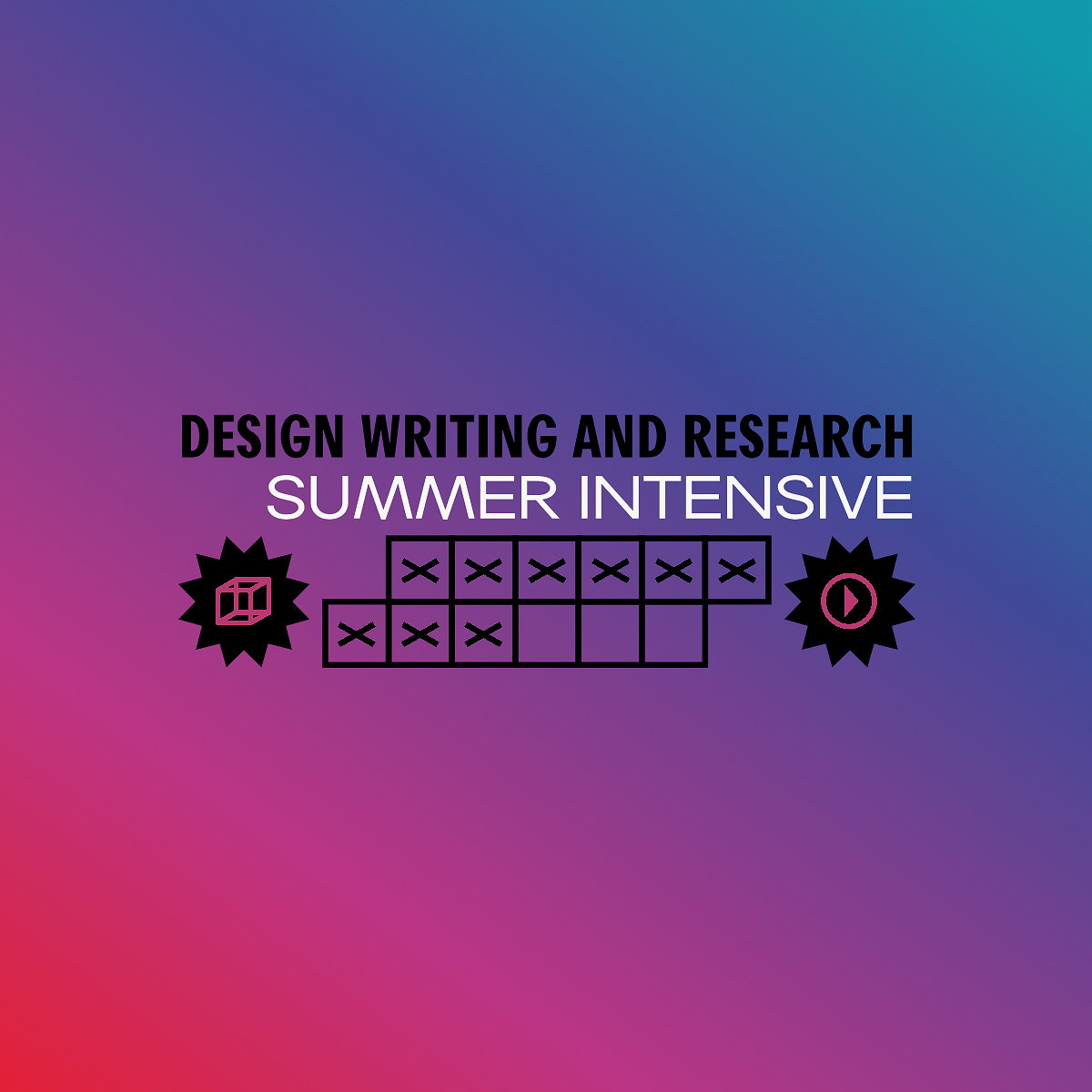 2016 Design Writing and Research Summer Intensive