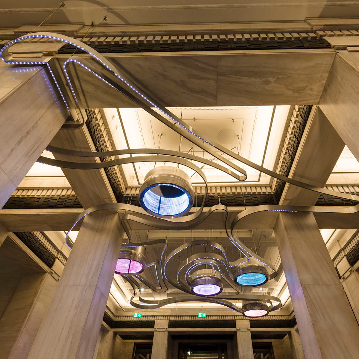 MET Studio Creates Iconic Installations for IET HQ in London