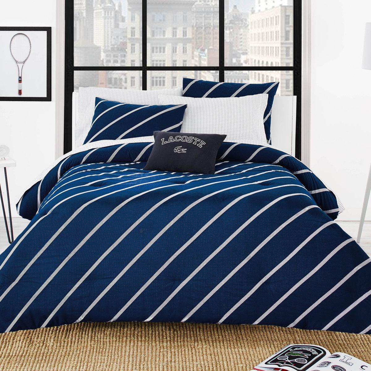 Lacoste Launches Brand New College Bedding Collection