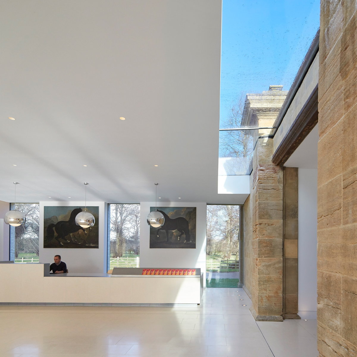 The Harley Gallery by Hugh Broughton Architects
