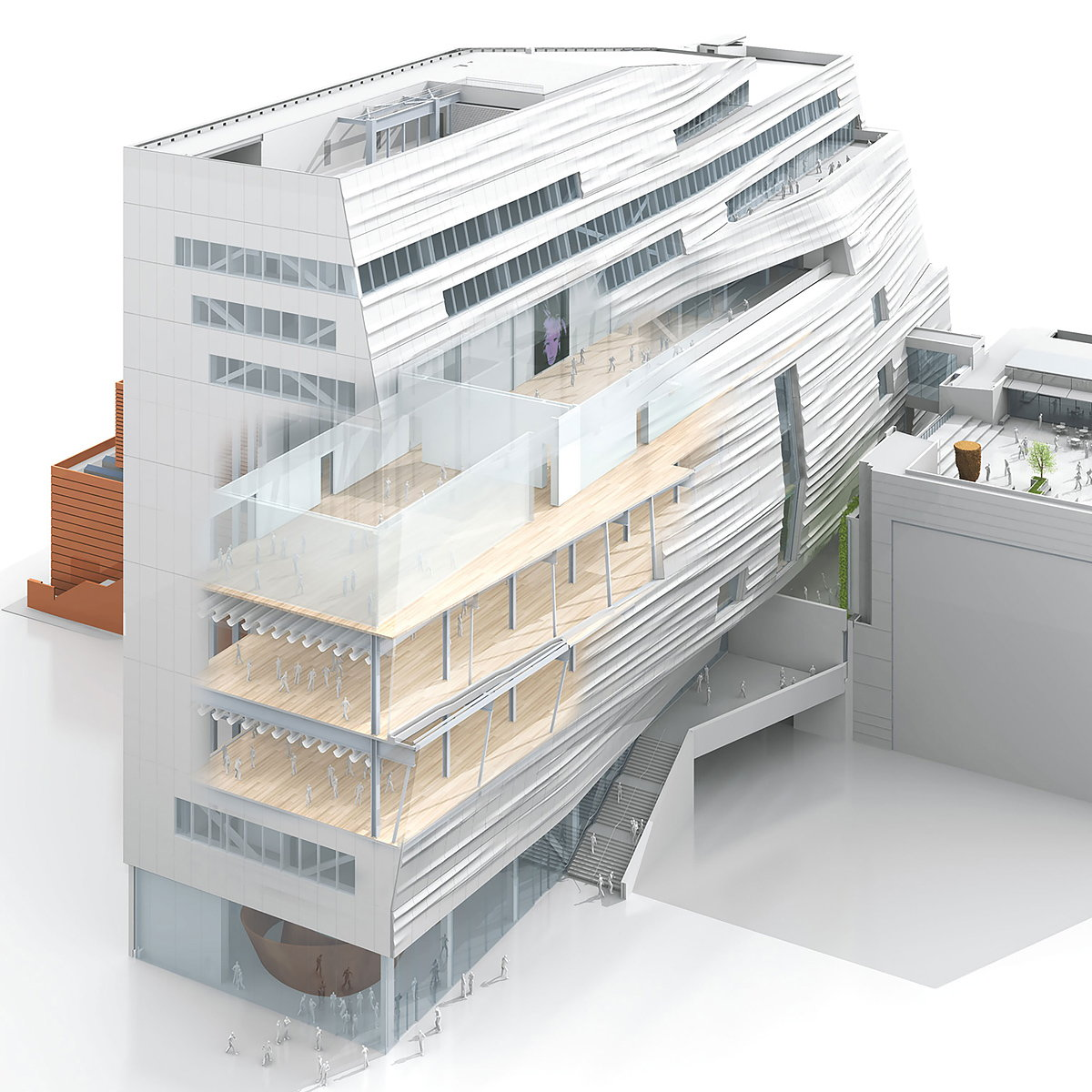 WIRED Unveils Scroll-through, 3D Rendering of the New SF MoMA
