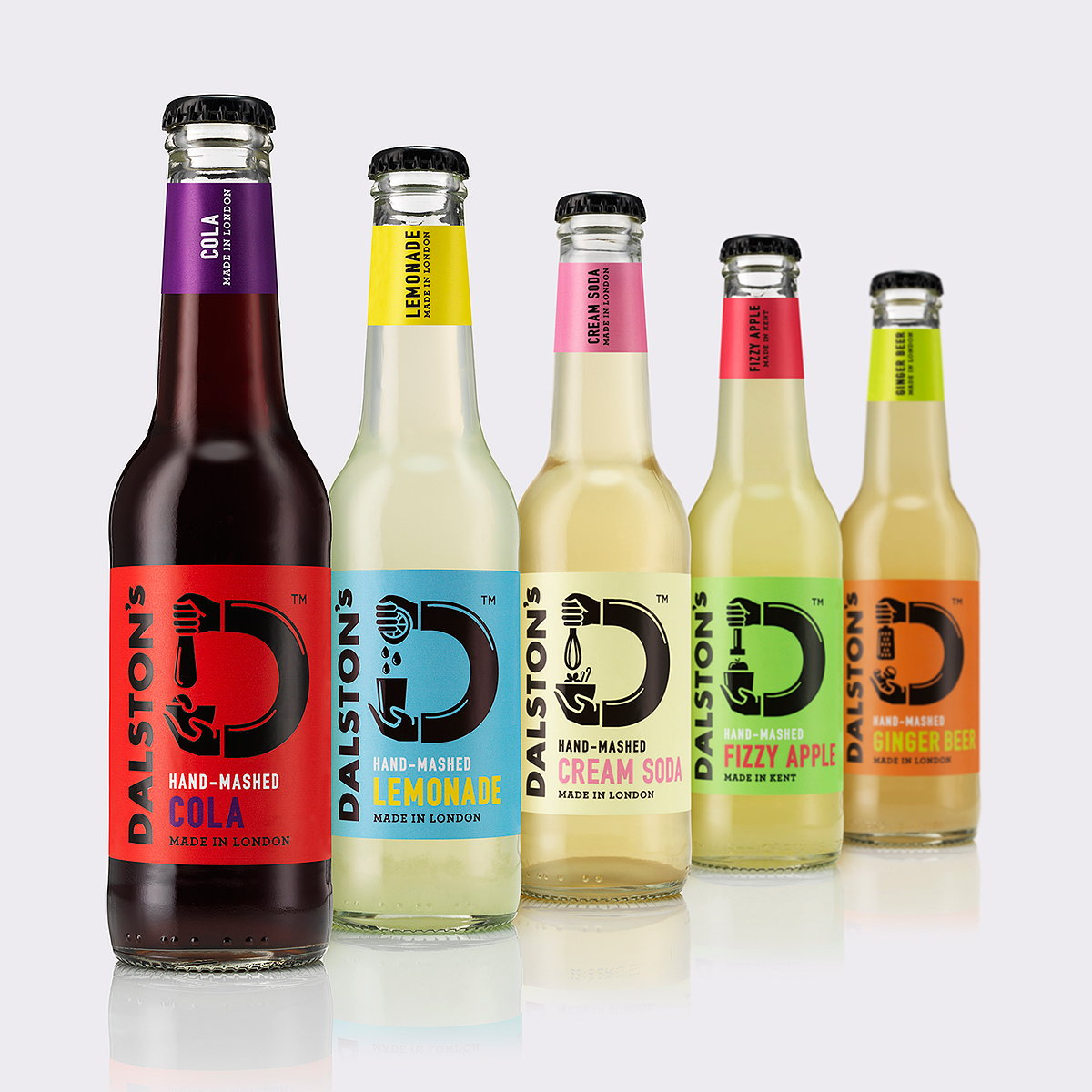 B&B Studio Creates Brand Identity for Craft Soft Drinks Company Dalston's