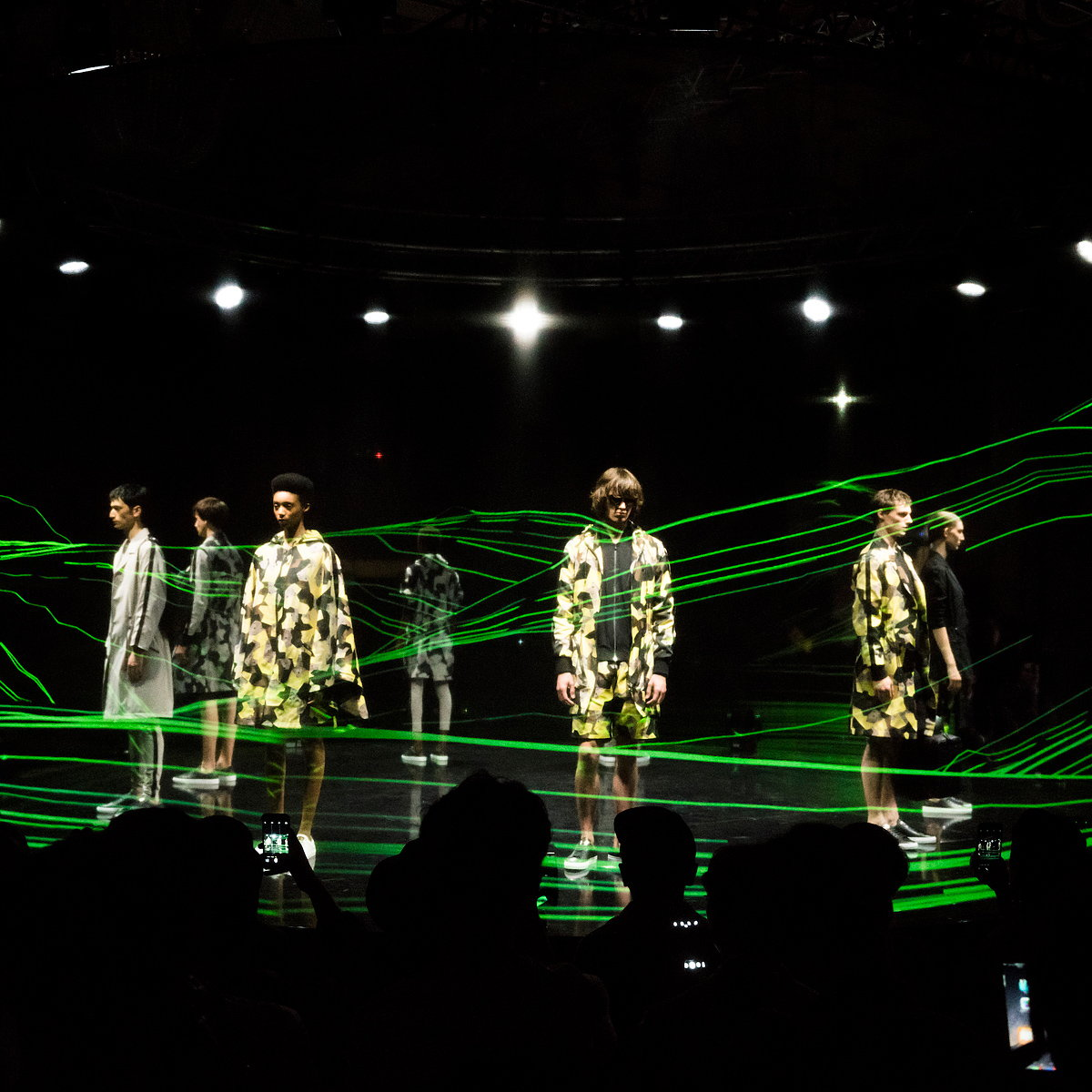 Universal Everything Creates 360 Degrees Weather Installation for London Collections Men