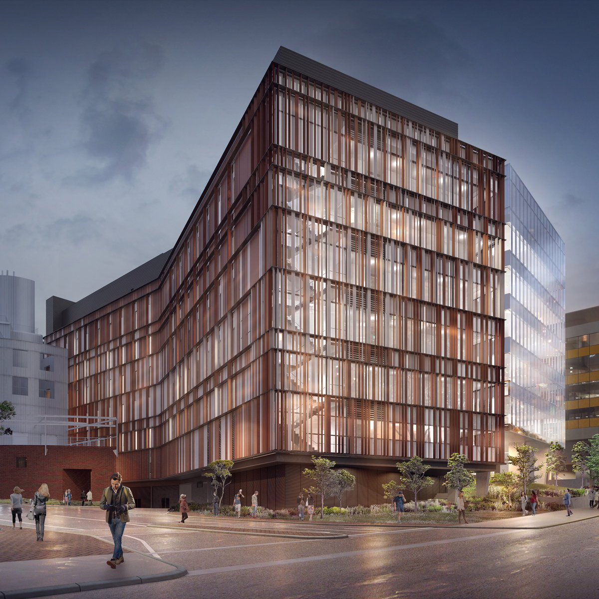 Woods Bagot Designs New Biological Sciences Building at UNSW