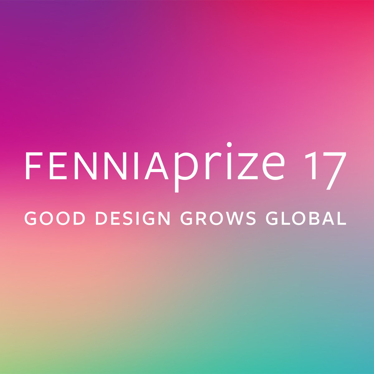 Fennia Prize 2017 - Good Design Grows Global