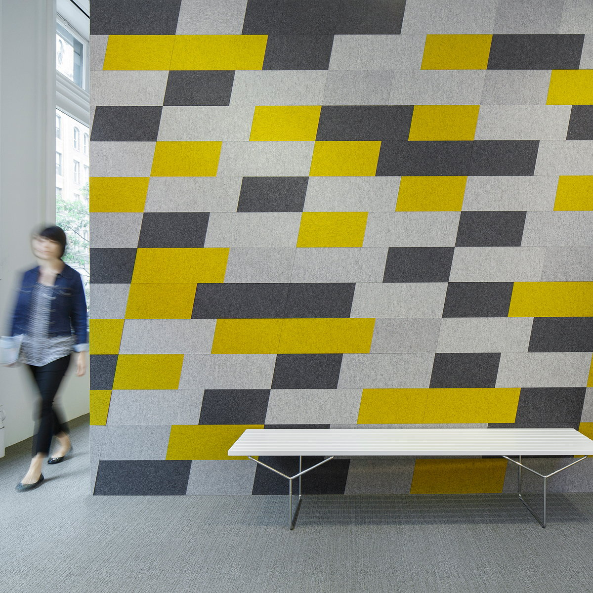 Architecture Research Office Designs New Acoustic Tile Collection for FilzFelt