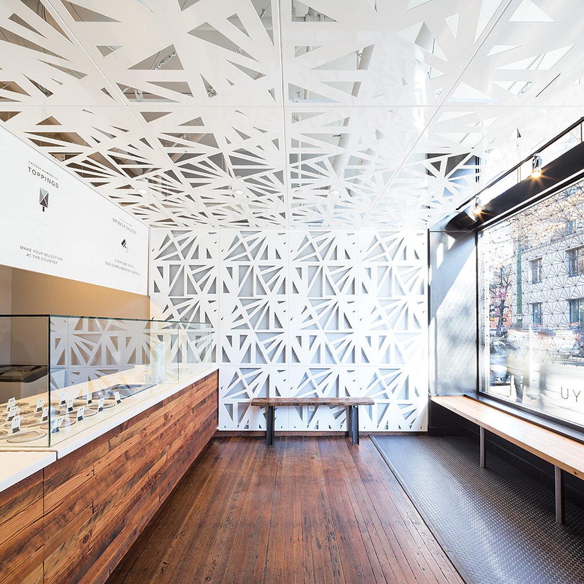 Uyu Ice Cream Shop By Leckie Studio