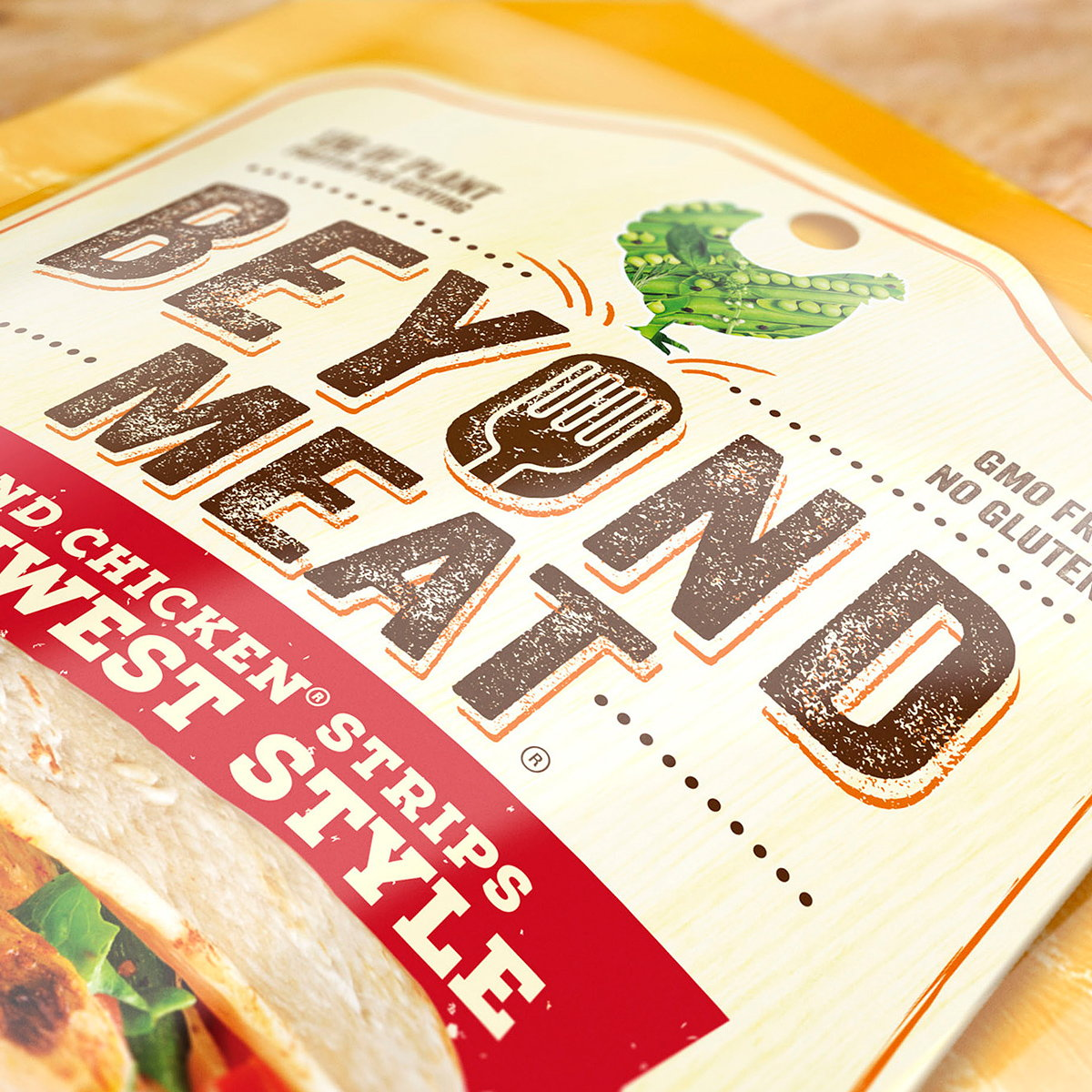 Beyond Meat Relaunches with Bold New Packaging and Visual Identity by Bulletproof