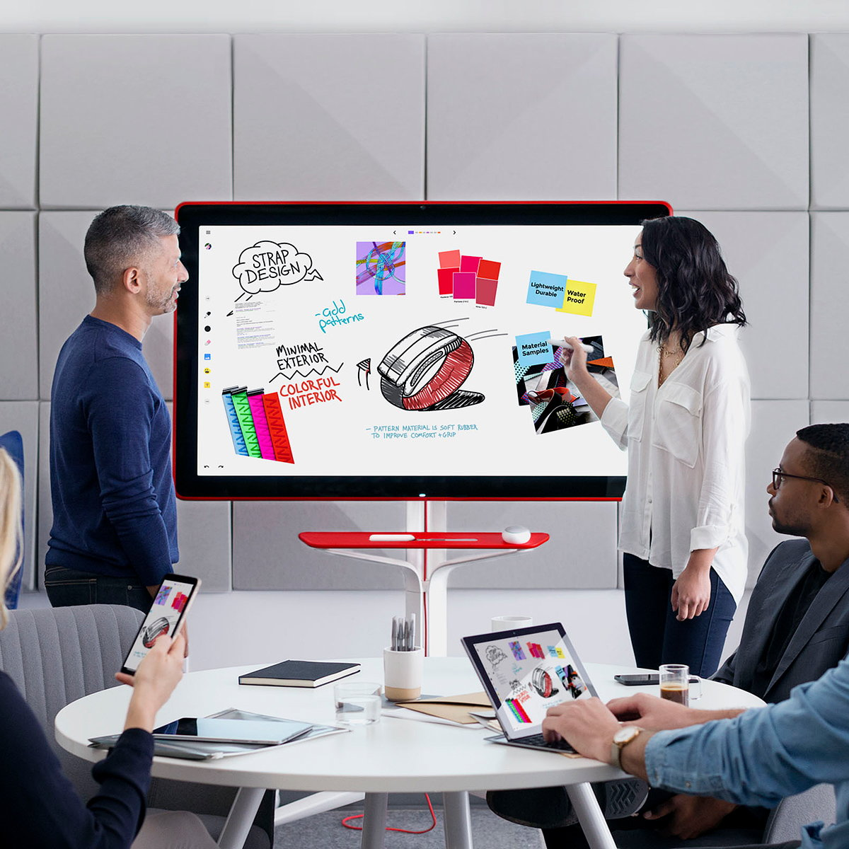 Jamboard - The Whiteboard, Reimagined for Collaboration in the Cloud