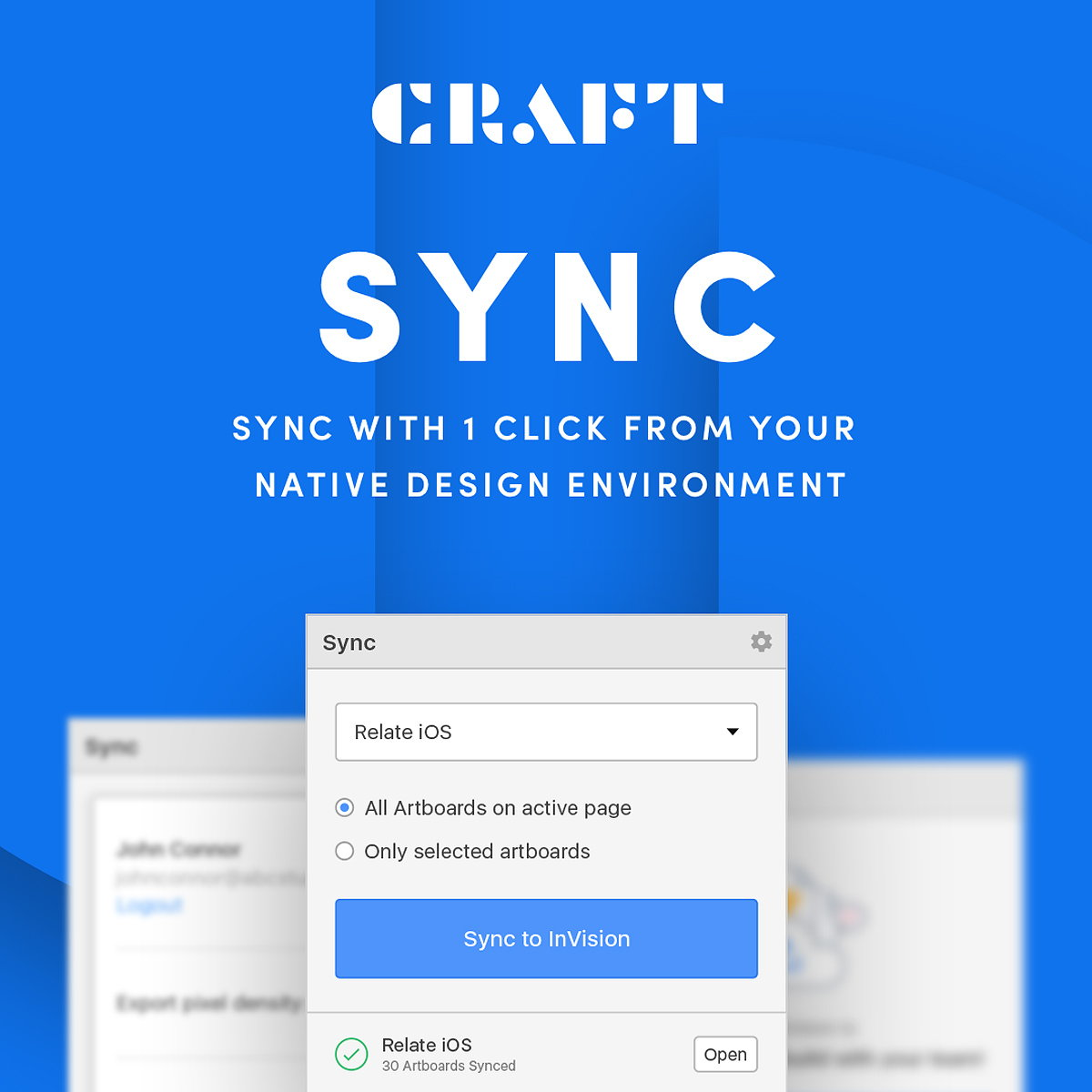 Craft Sync - Sync From Sketch with 1 Click