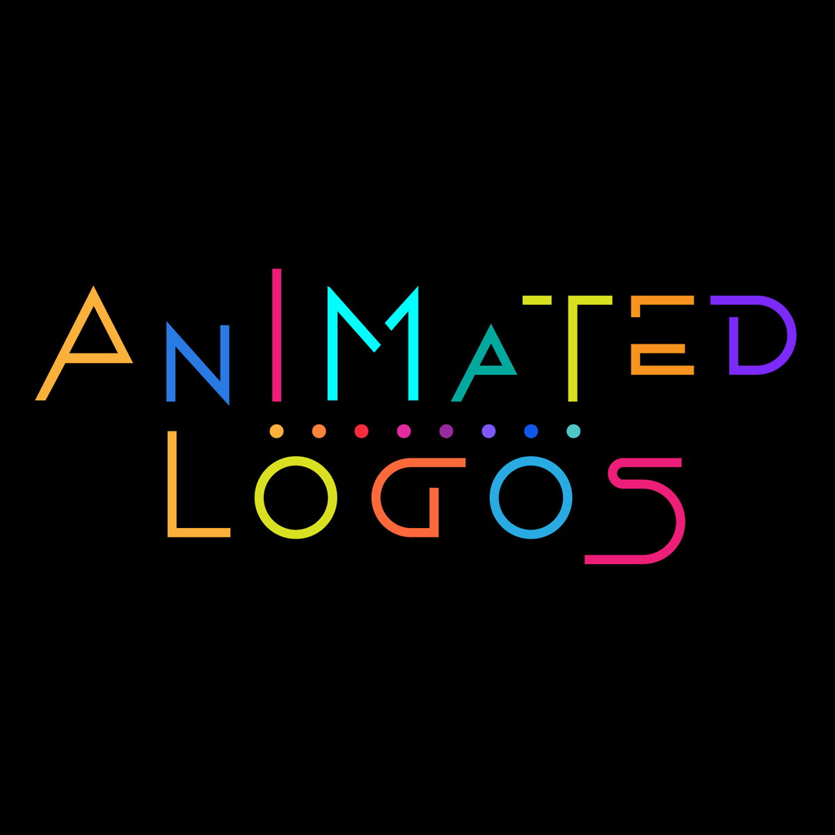 Animated Logos Celebrate Movement