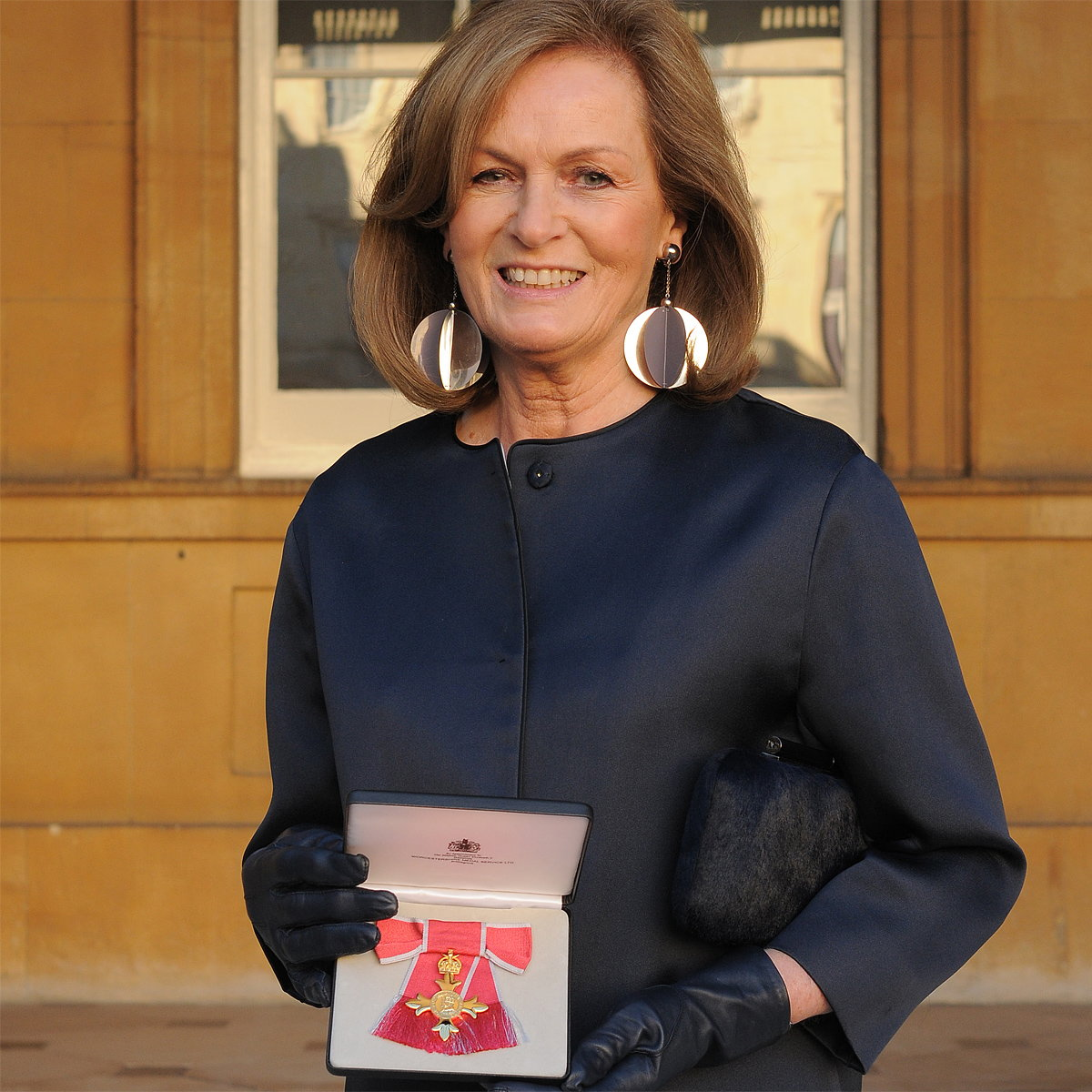 Diana Yakeley Receives OBE From Prince William for Services to the Interior Design Profession