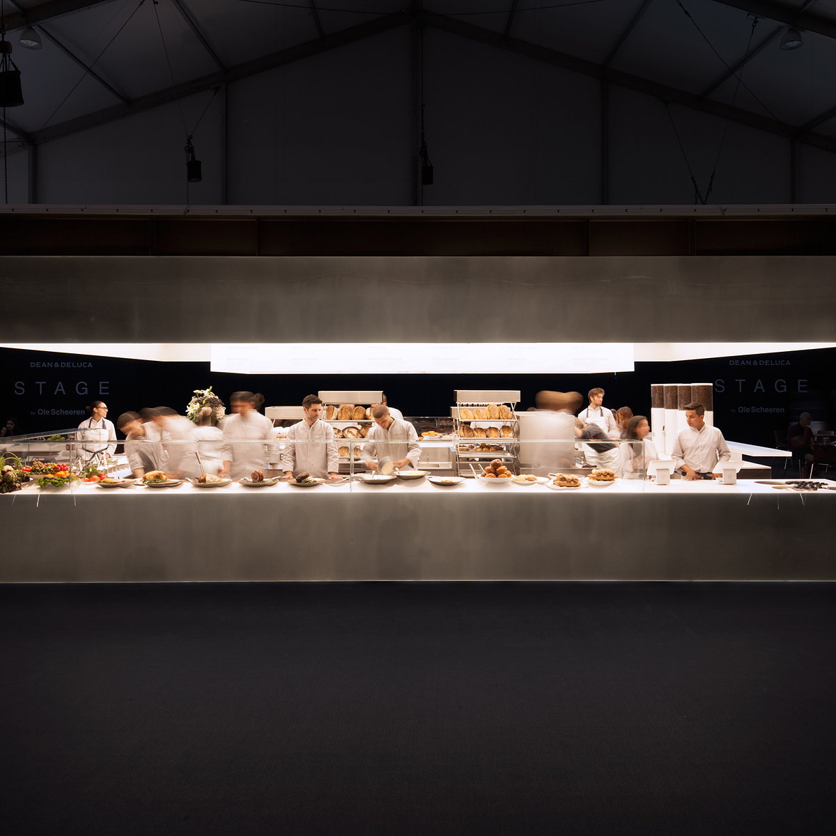 Dean and DeLuca and Ole Scheeren Unveiled STAGE at Design Miami