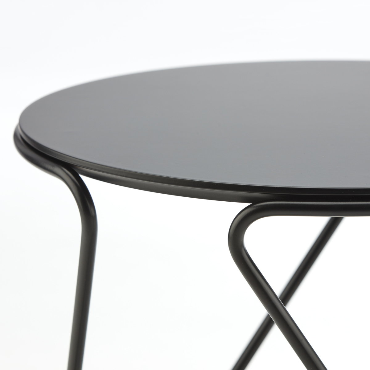 Thonet Side Table S 18 by Uli Budde