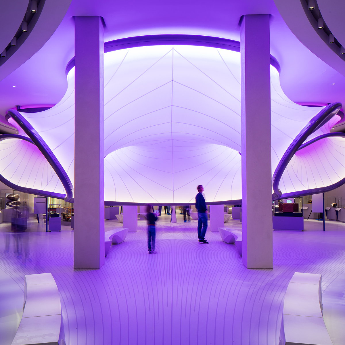 Mathematics - The Winton Gallery by Zaha Hadid Architects