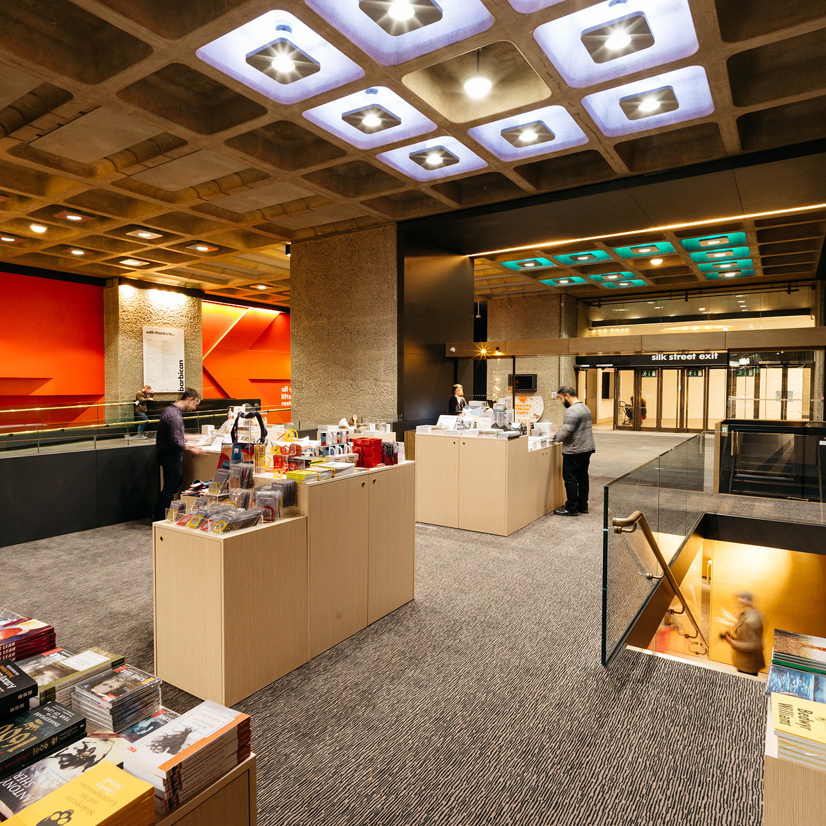 Allford Hall Monaghan Morris Designs New Barbican Shop