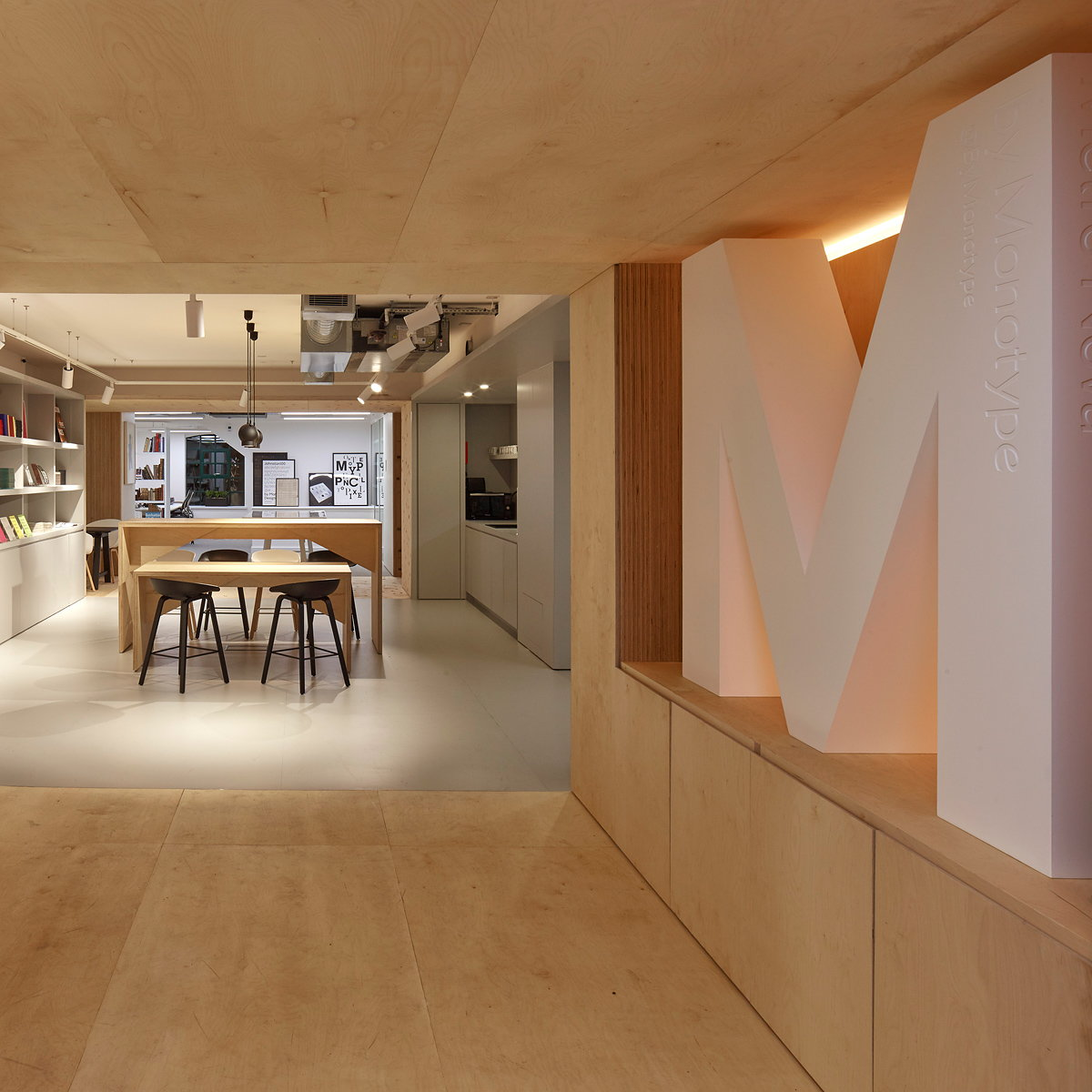 New Monotype Office by Ben Adams Architects