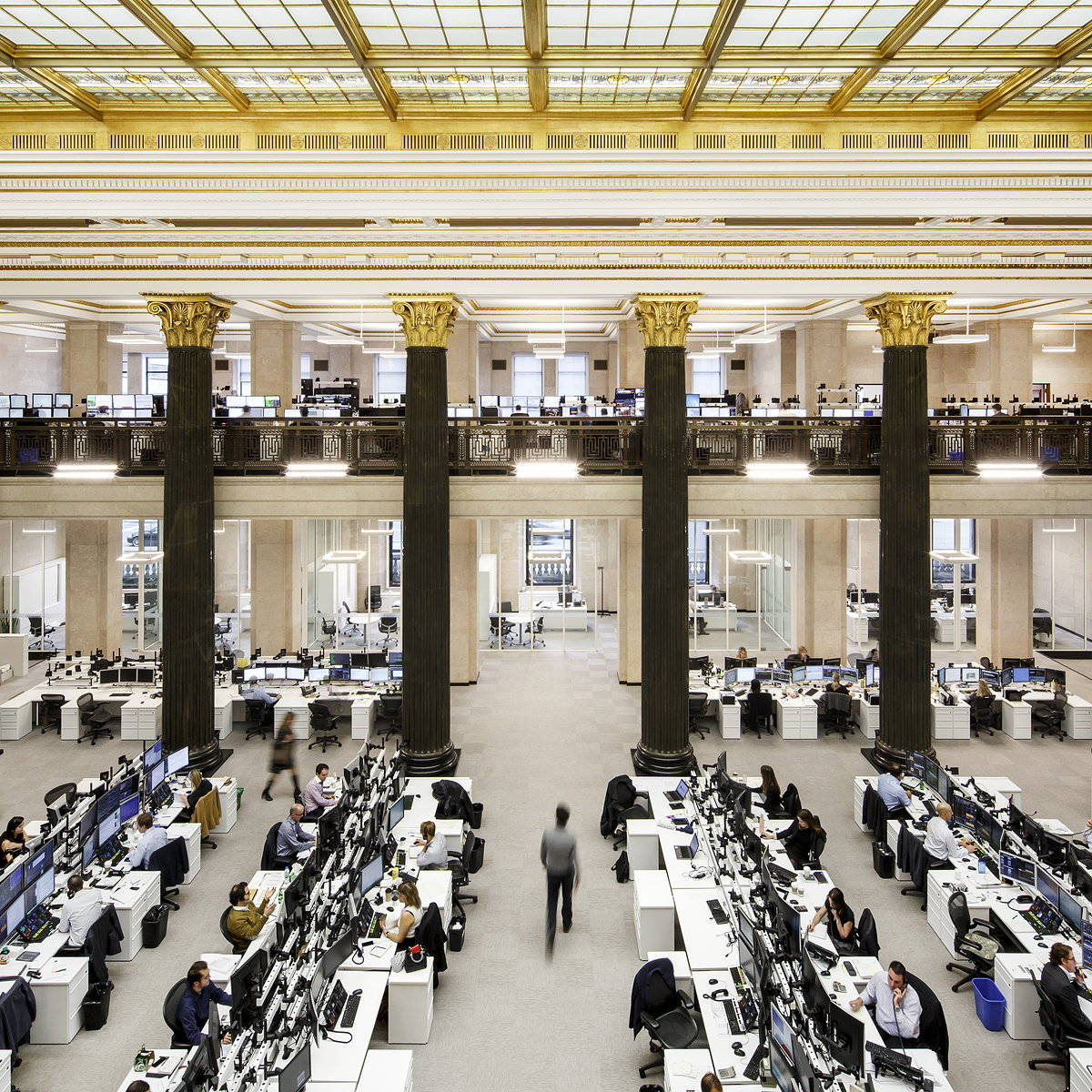 National Bank of Canada's New Montreal Trading Floor by Architecture49