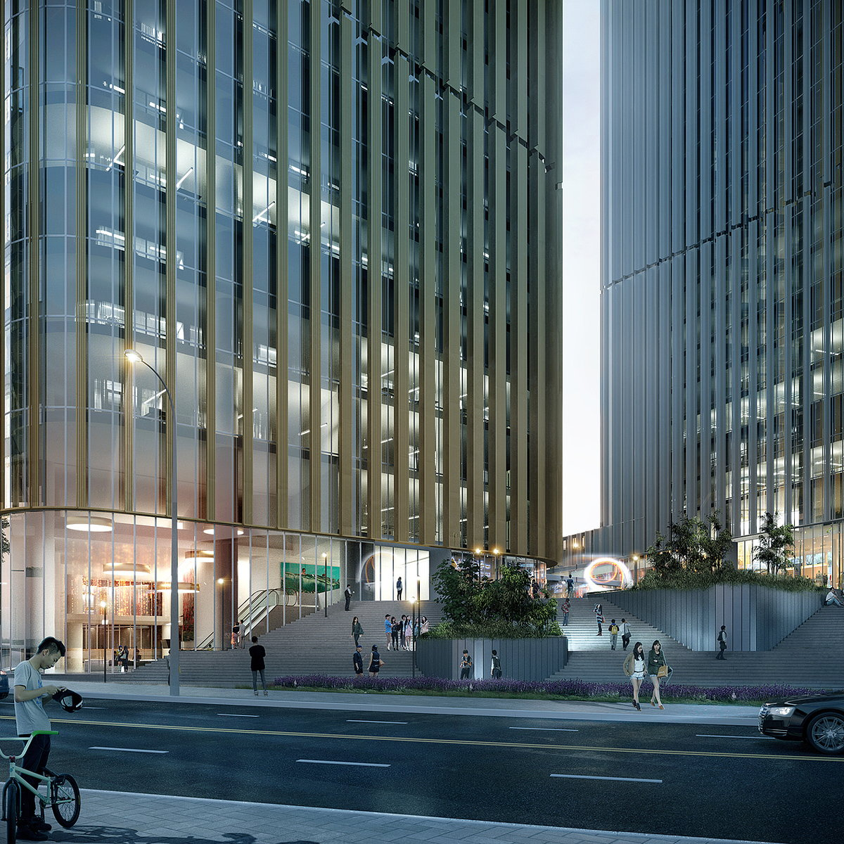HENN Wins Competition to Design Central Business District, Changchun