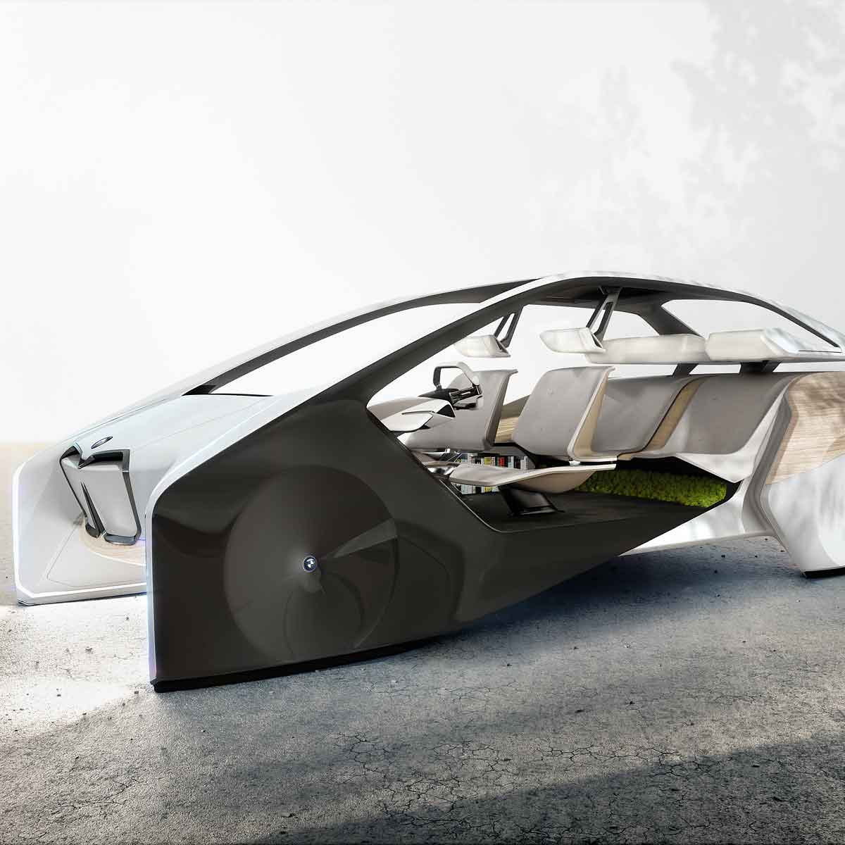 BMW Unveils BMW i Inside Future Sculpture at CES 2017