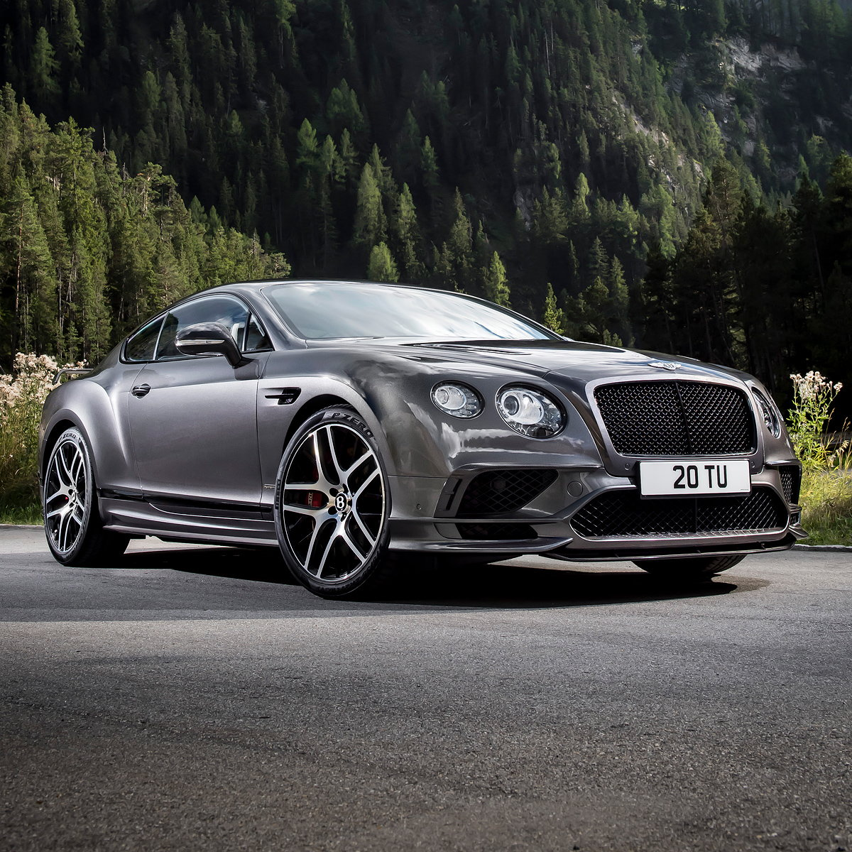 New Bentley Continental Supersports