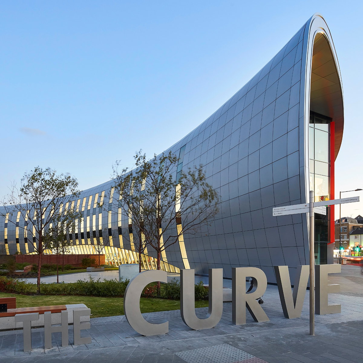 The Curve Completes in Heart of Slough