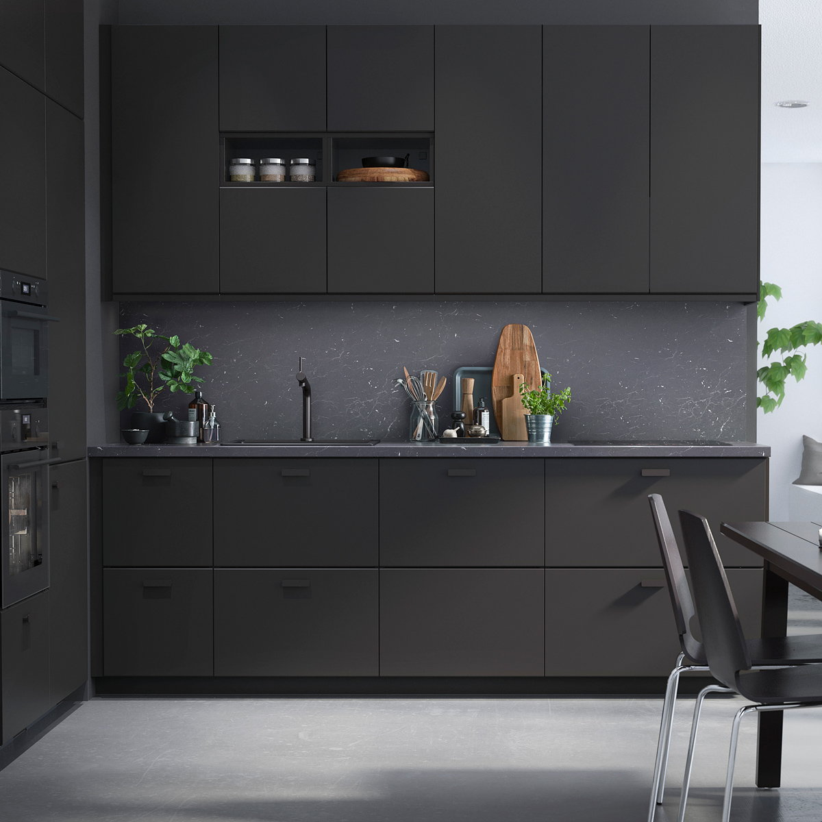 Ikea kungsbacka by form us with love - Cuisine noir mat ikea ...