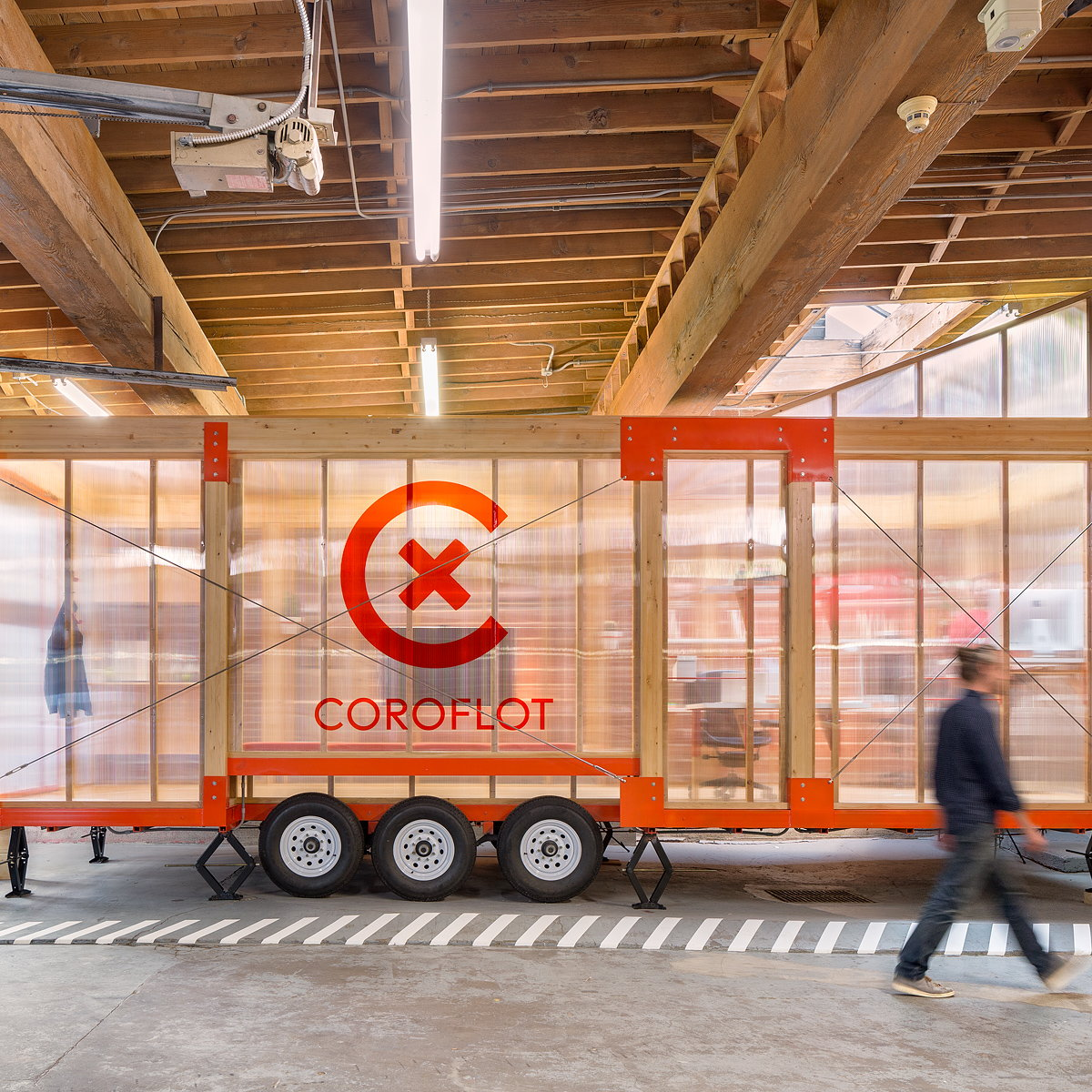 Coroflot Unveils Innovative Mobile Workplace