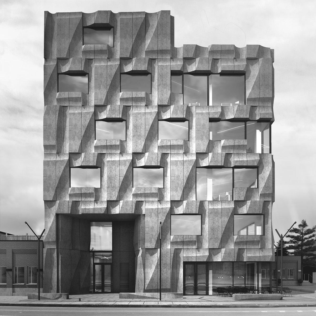Batay Csorba Architects Reimagines The Precast Concrete