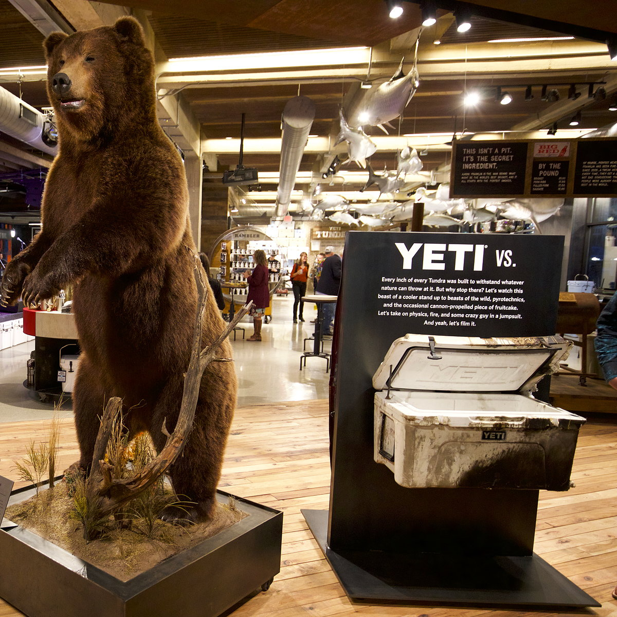 YETI Flagship Store by lauckgroup