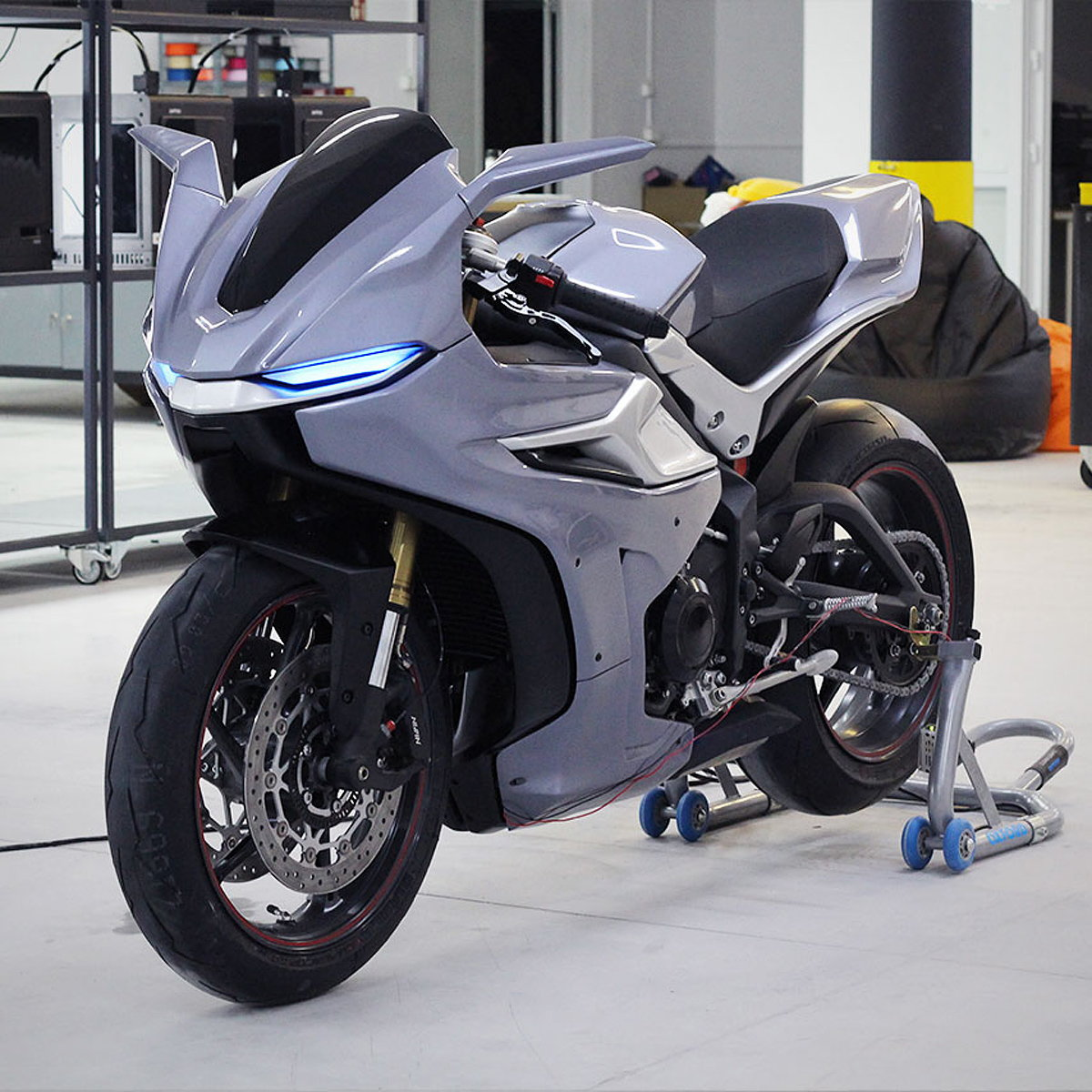 Czyzewski Design Unveils Motorcycle Prototype for Zortrax